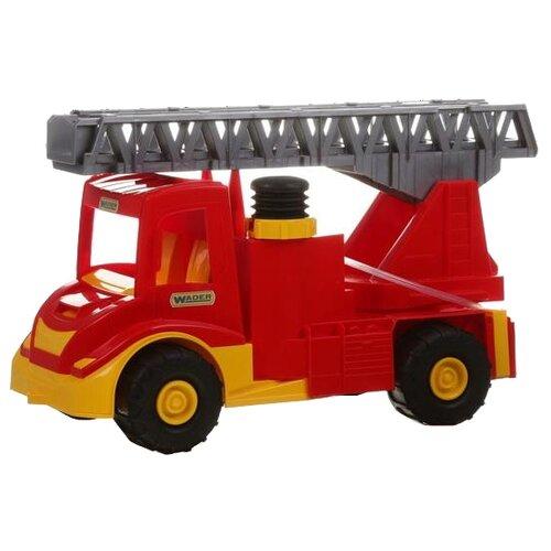 Купить Пожарный автомобиль Wader Multi Truck (39218) 43 см красный, Машинки и техника