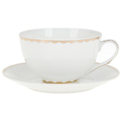 """Best Home Porcelain Чайная пара """"Celebrity"""" 300 мл (подарочная упаковка)"""