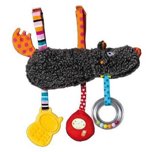 Купить Подвесная игрушка Ebulobo Волчонок (E10034) коричневый/оранжевый, Подвески
