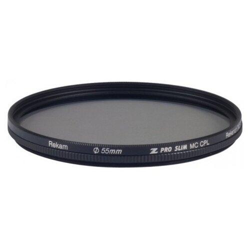 Фото - Светофильтр поляризационный круговой Rekam Z Pro Slim CPL MC 55 мм rekam z pro slim cpl mc 58 мм черный