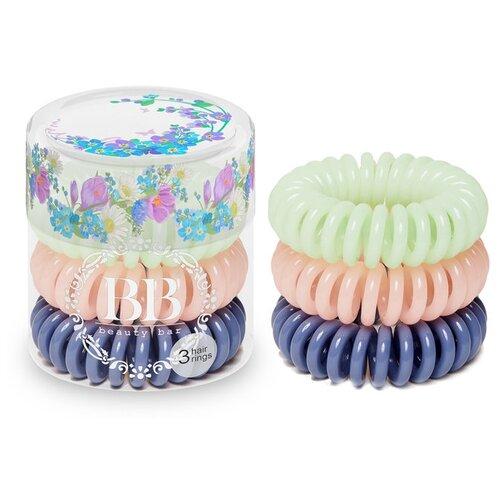 Резинка Beauty Bar браслет 3 шт. акварельРезинки, ободки, повязки<br>