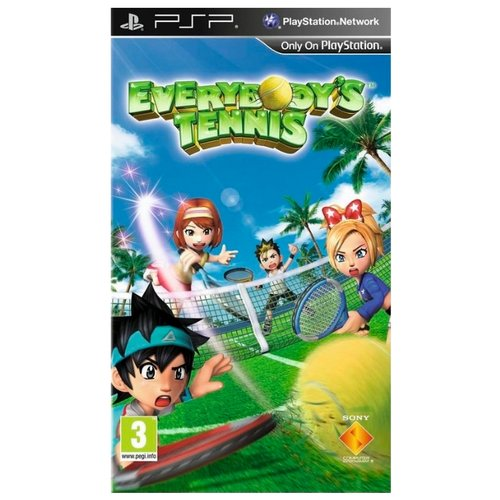 Игра для PlayStation Portable Everybody's Tennis Portable