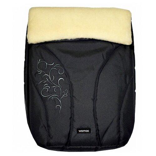 Купить Конверт-мешок Womar Snowflake в коляску 95 см 11 графитовый, Конверты и спальные мешки