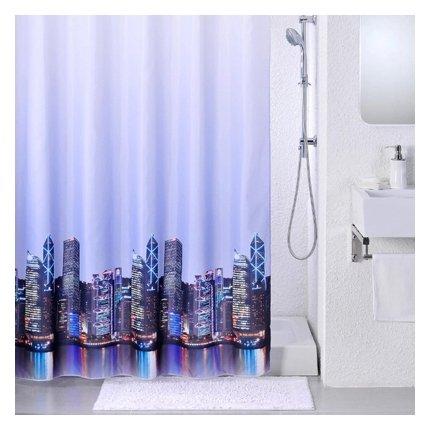 Карниз для ванной Tatkraft Mast 200 серебристый/белый
