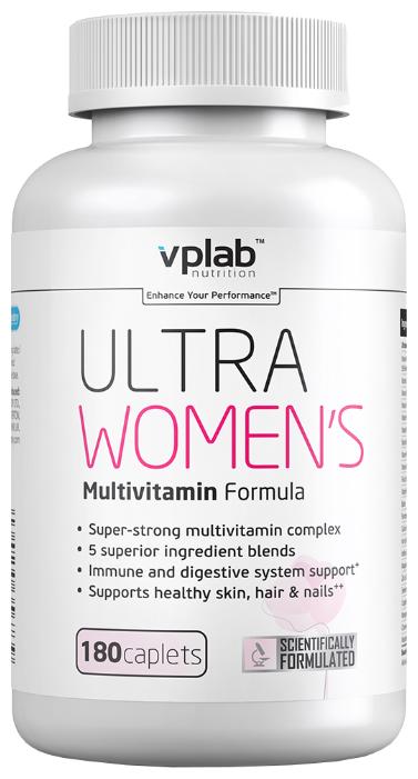 Минерально-витаминный комплекс VP Laboratory Ultra Women s (180 каплет) нейтральный