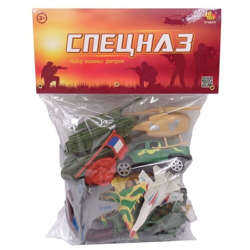 Купить Набор фигурок ABtoys Спецназ PT-00576, Солдатики