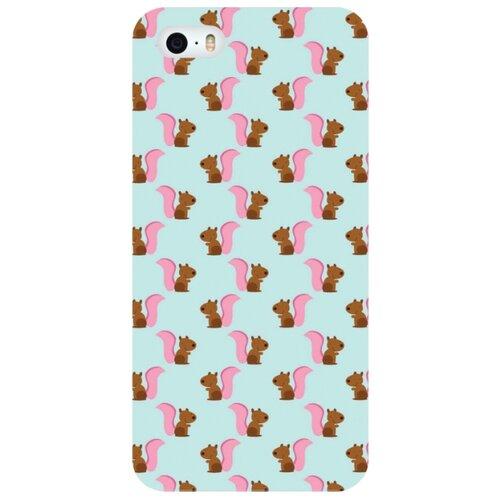Купить Чехол Mitya Veselkov IP5.МITYA-259 для Apple iPhone 5/iPhone 5S/iPhone SE белочки