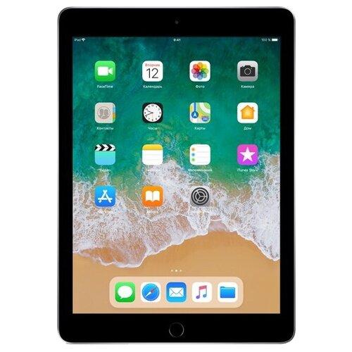 Планшет Apple iPad (2018) 128Gb Wi-Fi + Cellular space gray