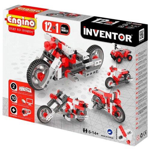Конструктор ENGINO Inventor (Pico Builds) 1232 Мотоциклы, Конструкторы  - купить со скидкой