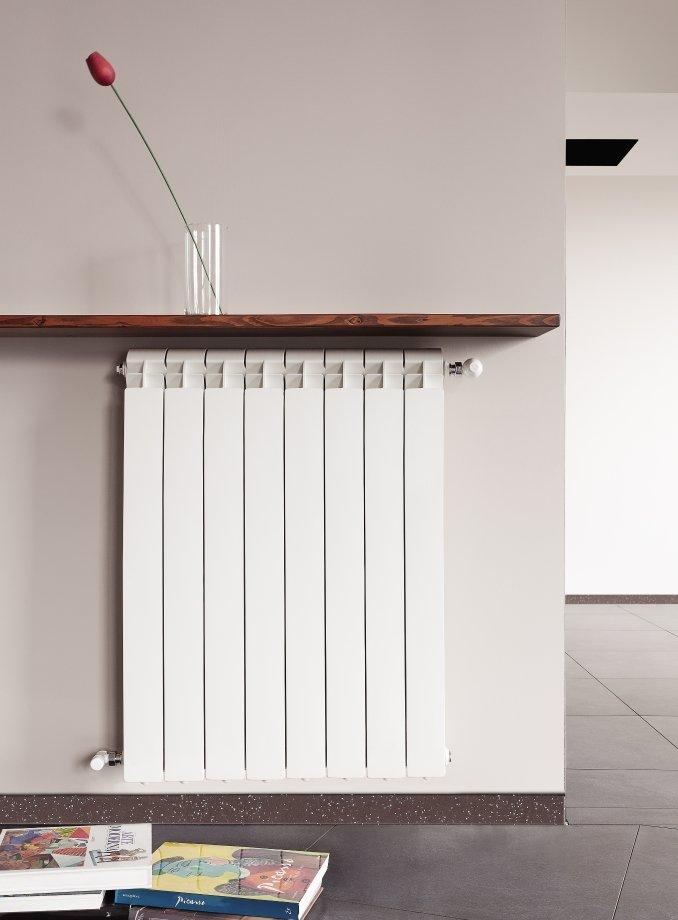 Алюминиевый радиатор похож наконструктор: секции можно добавлять или убирать
