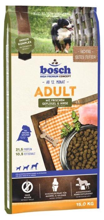 Корм для собак Bosch Adult Poultry & Millet