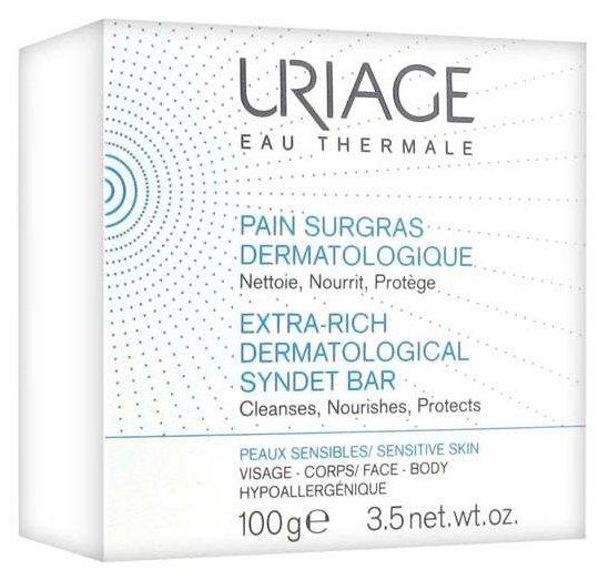 Uriage мыло обогащенное дерматологическое Pain Surgras