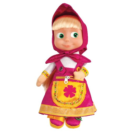 Купить Интерактивная развивающая игрушка Мульти-Пульти Маша учит одеваться розовый, Развивающие игрушки