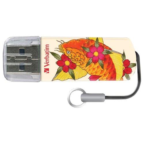 Фото - Флешка Verbatim Store 'n' Go Mini USB Drive 8GB, оранжевый verbatim mini elements edition 8gb голубой