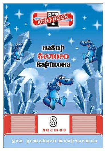 Белый картон FKIN-8408 KOH-I-NOOR, A4, 8 л.
