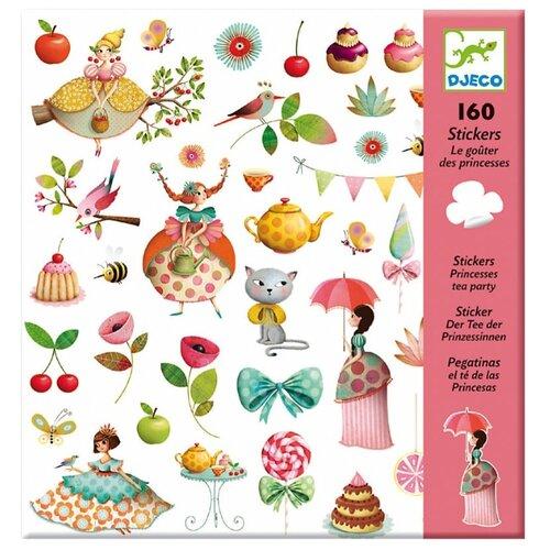 Купить DJECO Наклейки Чаепитие у принцессы, 160 шт. (08884)