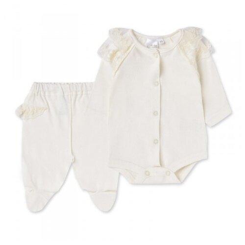 Комплект одежды Linas Baby размер 50 (0), ванильныйКомплекты<br>