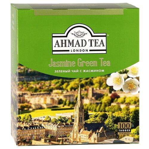 цена на Чай зеленый Ahmad tea Jasmine в пакетиках , 200 г , 100 шт.