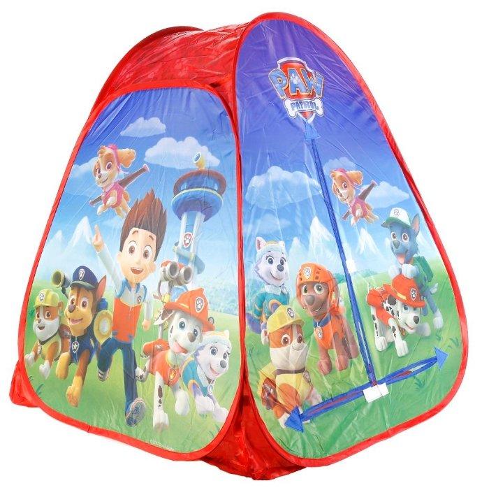 Палатка Играем вместе Щенячий патруль в сумке GFA-PP01-R