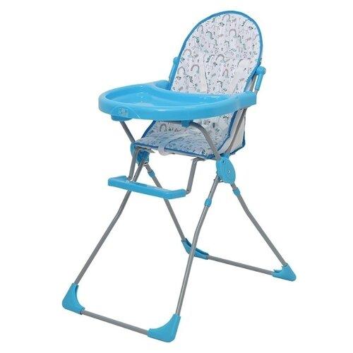 Фото - Стульчик для кормления Polini 152 единорог радуга голубой стульчик для кормления polini 152 розовый