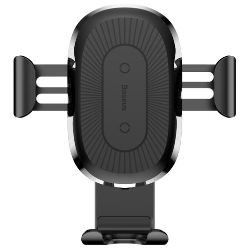 Купить Держатель с беспроводной зарядкой Baseus Wireless Charger Gravity Car Mount черный