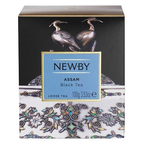 Чай черный Newby Heritage Assam, 100 г чай черный newby с чабрецом листовой 100 г