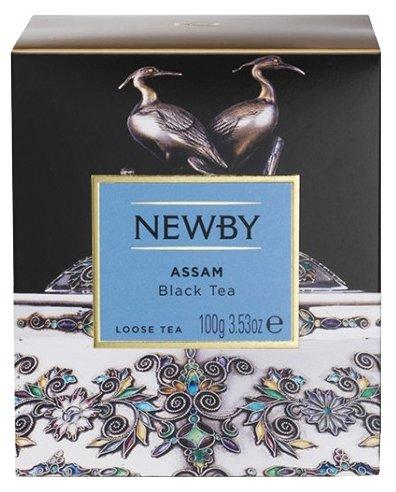 Чай черный Newby Assam листовой 100 г, 100 г.