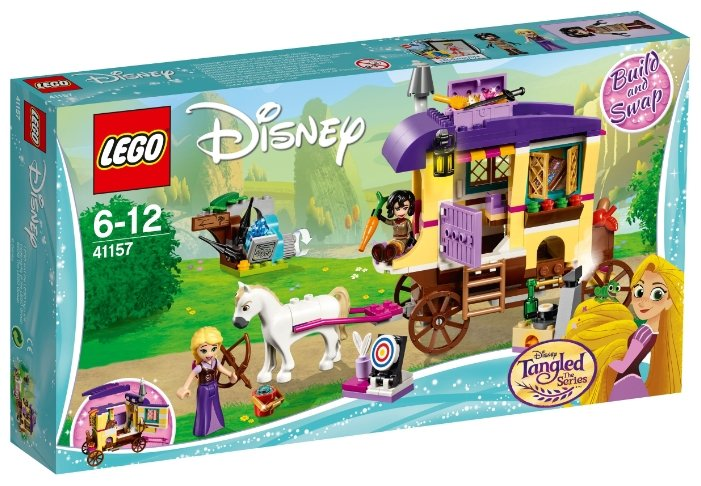 Конструктор LEGO Disney Princess 41157 Экипаж Рапунцель — цены на Яндекс.Маркете