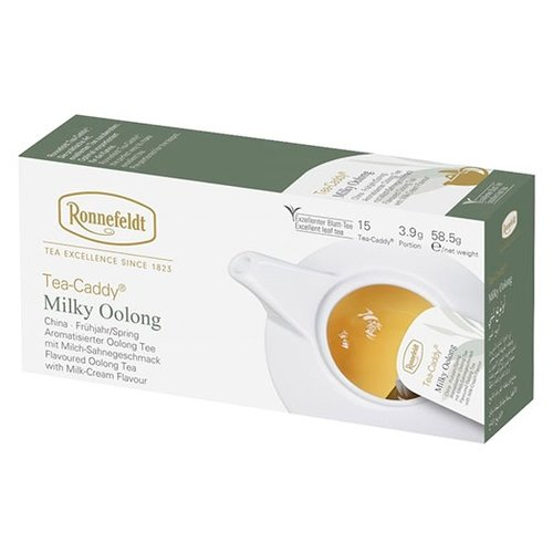 Чай улун Ronnefeldt Milky Oolong в пакетиках для чайника, 15 шт. чай улун императорский чай professional oolong в пакетиках для чайника 20 шт