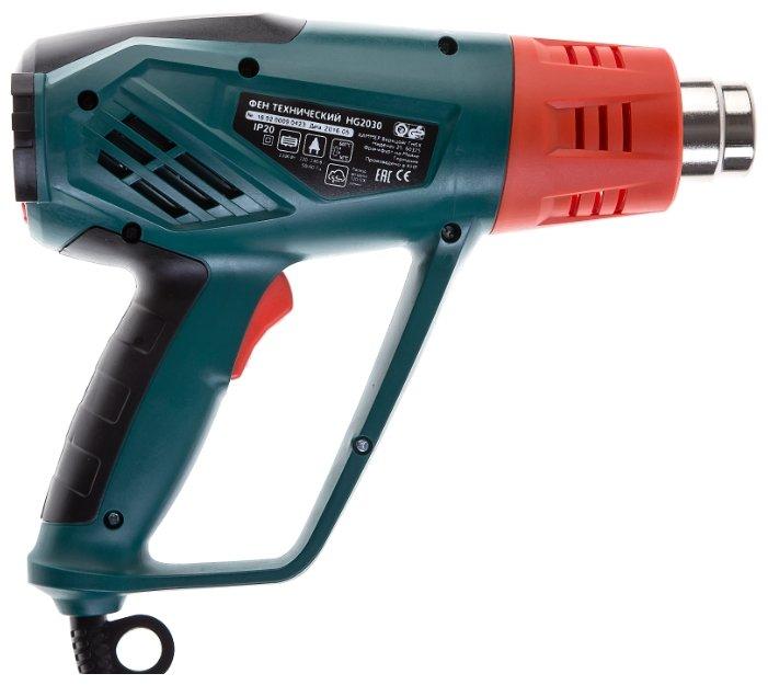 Профессиональный строительный фен Hammer HG2030 Premium Case