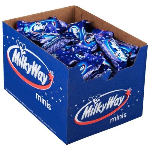 Конфеты Milky Way minis, коробка 1000 г подарочный набор milky way кормушка 155 г