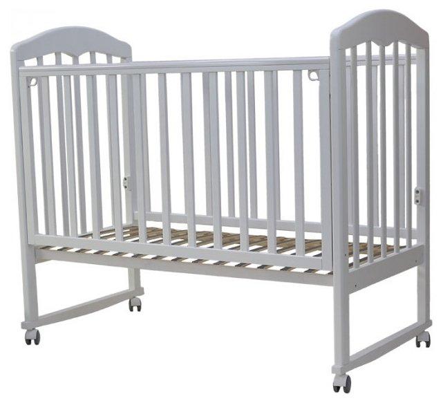 Кроватка Топотушки Сильвия-2 (колесо, качалка)