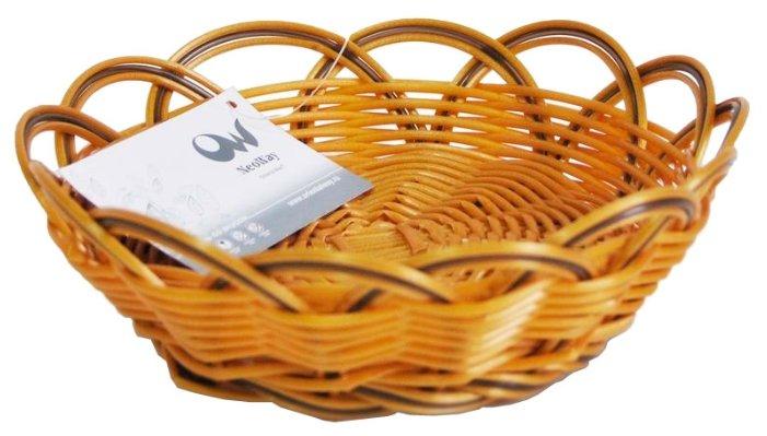 Корзинка для хлеба Oriental Way Мульти MJ-PP016BRBK