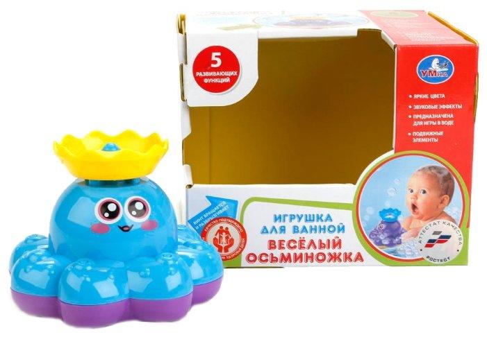 Игрушка для ванной Умка Веселый осьминожка