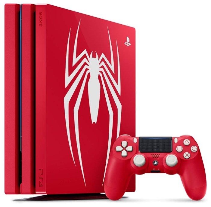 Sony Игровая приставка Sony PlayStation 4 Pro Spider-Man