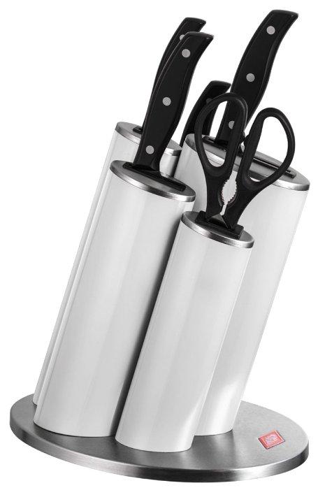 Набор Wesco Asia 4 ножа и ножницы с подставкой