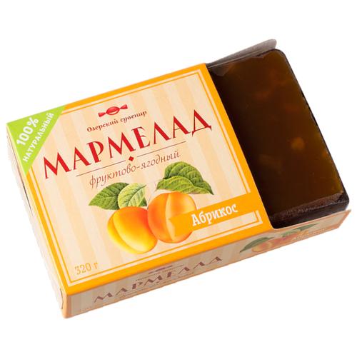 Мармелад Озерский сувенир фруктово-ягодный Абрикос 320 г take a bitey яблоко вишня батончик фруктово ягодный 25 г