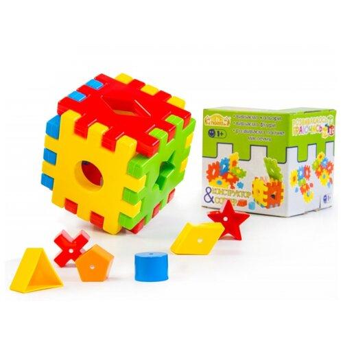 Сортер Тигрес Волшебный куб 12 элементов