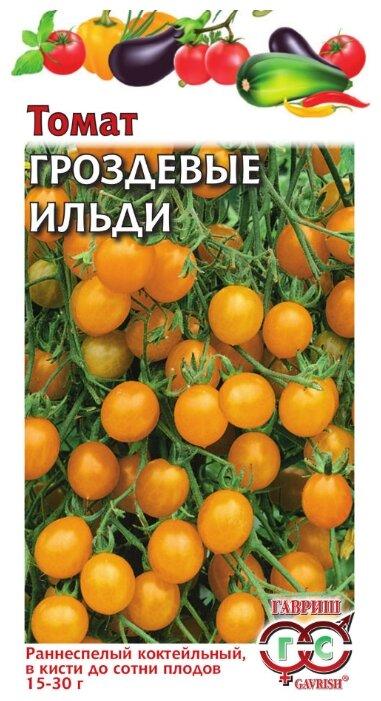 Семена Гавриш Томат Гроздевые Ильди 0,1 г