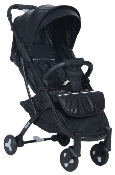 Прогулочная коляска Tommy Travel (экокожа) черный