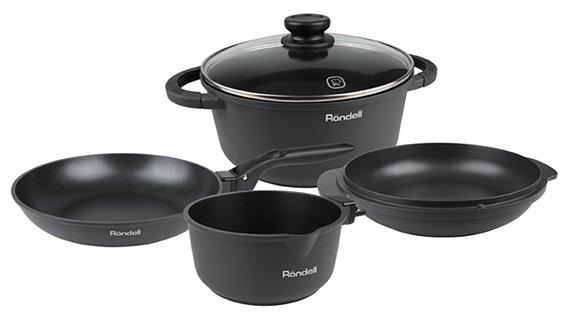 Набор посуды Rondell The One RDA-563 6 пр.