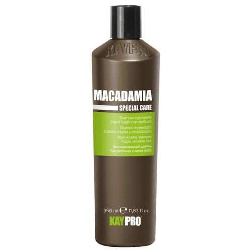 KayPro шампунь Macadamia восстанавливающий для чувствительных и ломких волос 350 мл краска для волос kaypro kaypro ka037lwbolx4