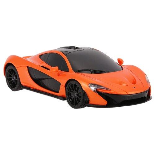 Купить Легковой автомобиль Rastar McLaren P1 (75200) 1:24 18 см оранжевый, Радиоуправляемые игрушки