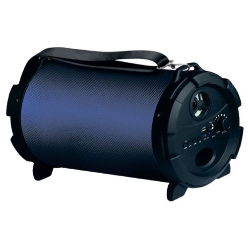 цена на Портативная акустика Hyundai H-PAC240 синий / черный