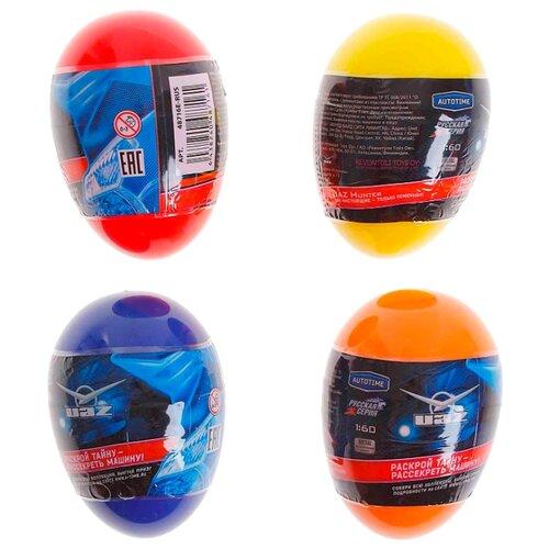 Купить Машинка Autogrand ГАЗ УАЗ в яйце (48716) 1:60 8 см, Машинки и техника
