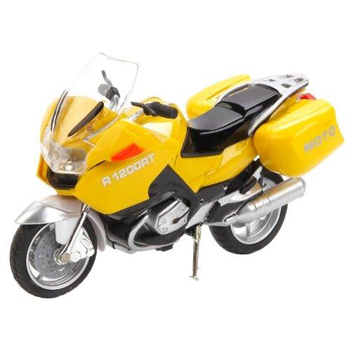 цена на Мотоцикл ТЕХНОПАРК Туризм (586856-R) 12.5 см желтый