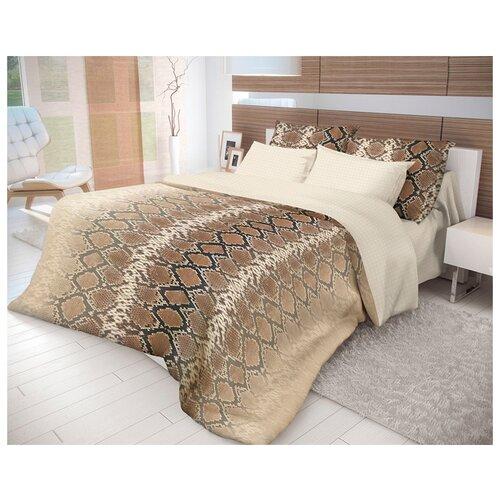 Постельное белье 1.5-спальное Волшебная ночь Mamba 717456 ранфорс светло-коричневыйКомплекты<br>