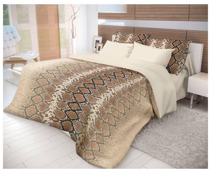 Постельное белье 1.5-спальное Волшебная ночь Mamba 717455 ранфорс