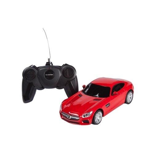 Купить Легковой автомобиль Rastar Mercedes AMG GT3 (72100) 1:24 18 см красный, Радиоуправляемые игрушки