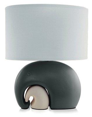 Настольная лампа Lucia Слоны 559 серый
